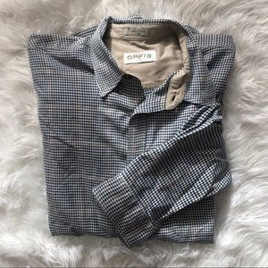 Orvis Signature Collection Houndstooth Shirt XXL